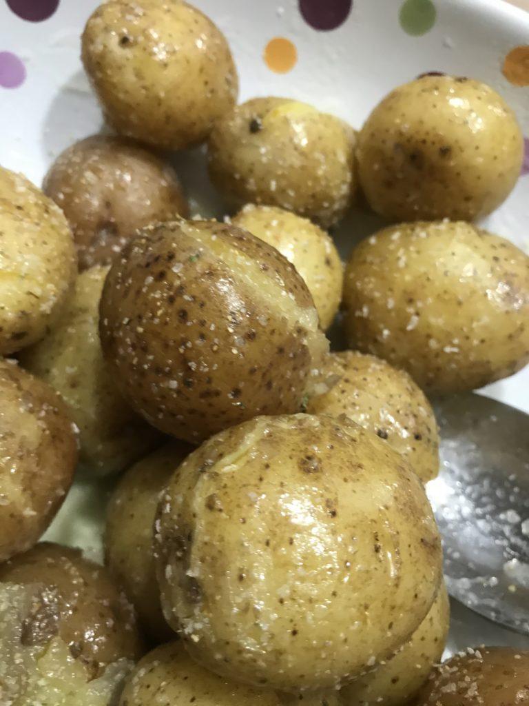 Ninja Foodi Baby Potatoes