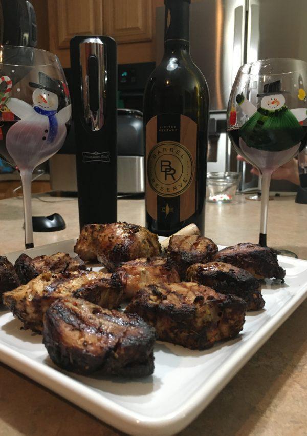 Ninja Grill Tuscan Pork