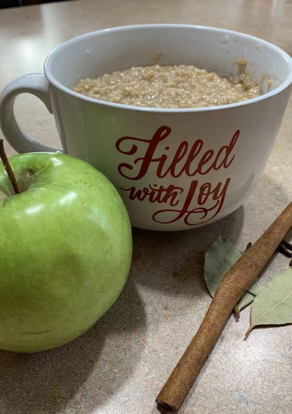Ninja Foodi Apple Cinnamon Oatmeal