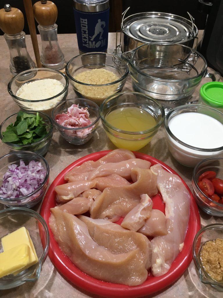 Parmesan chicken ingredients