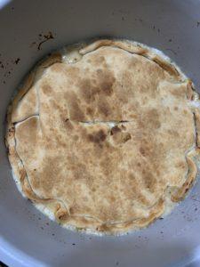 Cooked Chicken Pot Pie